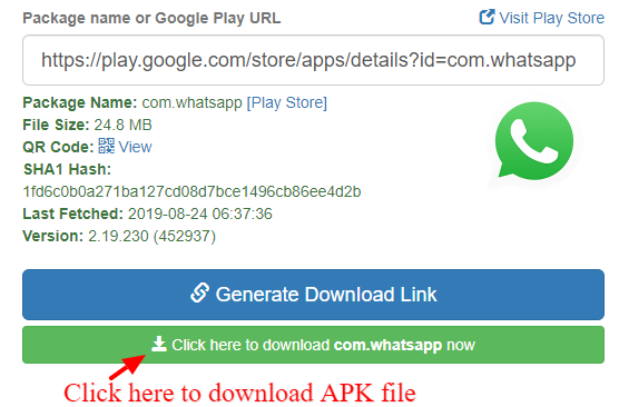 APK Downloader Outdroid